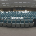 5 tips when attending a conference