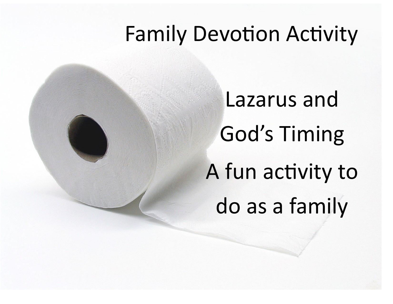 family devotion lazarus