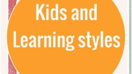 kids and learning styles