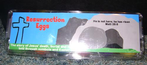 resurrection eggs final product