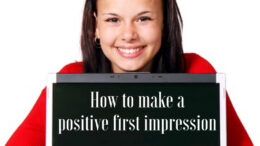 how to make a positive first impression