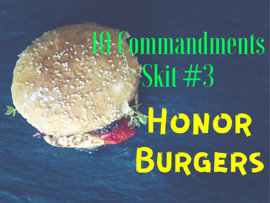 10 commandments skit 3