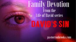 David's sin