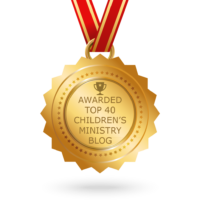 Honored to be on the list of top 40 Children's Ministry Blogs!